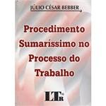 Livro - Procedimento Sumaríssimo no Processo do Trabalho