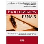 Livro - Procedimentos Penais - uma Visão de Defesa Sobre os Procedimentos Ordinário, Sumário e do Júri