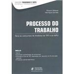 Livro - Processo do Trabalho: para os Concursos de Analista do TRT e do MPU