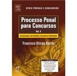 Livro - Processo Penal para Concursos - Volume V