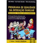 Livro - Programa de Qualidade na Interação Familiar: Manual para Aplicadores