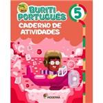 Livro - Projeto Buriti Português - Caderno de Atividades - Vol. 5