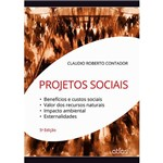 Livro - Projetos Sociais: Benefícios e Custos Sociais, Valor dos Recursos Naturais, Impacto Ambiental, Externalidades