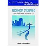 Livro - Psicologia e Trabalho - Apropriações e Significados