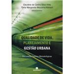 Livro - Qualidade de Vida, Planejamento e Gestão Urbana
