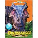 Livro Quebra-Cabeçá Dinossauros-Alossauro