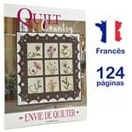 Livro Quilt Country - Envie de Quilter Nº 56