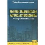Livro - Recursos Trabalhistas de Natureza Extraordinária