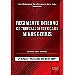 Livro - Regimento Interno do Tribunal de Justiça de Minas Gerais - Atualizada Até 27/01/2009
