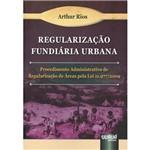 Livro - Regularização Fundiária Urbana