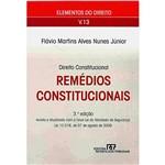 Livro - Remédios Constitucionais - Vol.13 - Elementos do Direito
