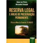Livro - Reserva Legal e Áreas de Preservação Permanente