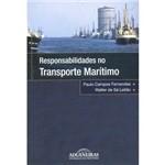Livro - Responsabilidades no Transporte Marítimo