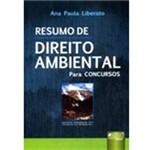 Livro - Resumo de Direito Ambiental - para Concursos