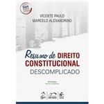 Livro - Resumo de Direito Constitucional Descomplicado