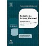 Livro - Resumo de Direito Eleitoral: Atualizada com as Mais Recentes Posições do TSE - Série Provas & Concursos