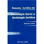 Livro - Resumo Jurídico de Sociologia Jurídica - Volume 23