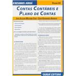 Livro - Resumos Juruá: Contas Contábeis e Plano de Contas - Vol. 4