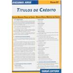 Livro - Resumos Juruá Direito: Títulos de Crédito - Vol. 5