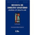Livro - Revista de Direito Sanitário - Journal Of Health Law - Nº 2 - Volume 8
