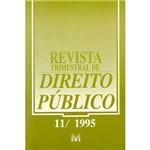 Livro - Revista Trimestral de Direito Público Ed.11