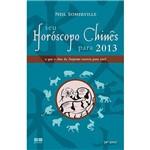 Livro - Seu Horóscopo Chinês para 2013