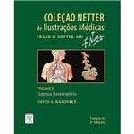 Livro - Sistema Respiratório - Coleção Netter de Ilustrações Médicas - Vol. 3