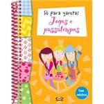 Livro - só para Garotas - Jogos e Passatempos