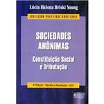Livro - Sociedades Anônimas - Constituição Social e Tributação