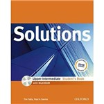 Livro - Solutions - Upper-Intermediate - Students Book: With Multirom Pack