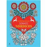 Livro - Sonhos Nórdicos: Colorir para Acalmar