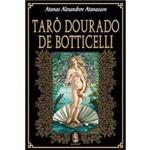 Livro - Tarô Dourado de Botticelli