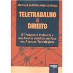 Livro - Teletrabalho e Direito