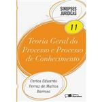 Livro - Teoria Geral do Processo e Processo de Conhecimento - Coleção Sinopses Jurídicas Vol. 11