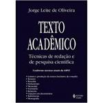 Livro - Texto Acadêmico: Técnica S de Redação e Pesquisa Científica