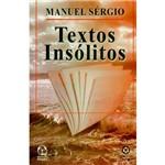 Livro - Textos Insólitos
