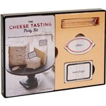 Livro - The Cheese Tasting Party Kit: Everything You Need To Host Your Own Cheese-Tasting Party
