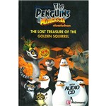 Livro - The Penguins Of Madagascar: The Lost Treasure Of The Golden Squirrel