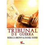 Livro Tribunal de Guerra Rebecca Brown