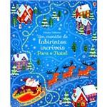 Livro - um Montão de Labirintos Incríveis para o Natal