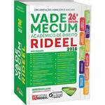 Livro - Vade Mecum Acadêmico de Direito Rideel - 26ª Edição 2018