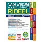 Livro - Vade Mecum Acadêmico de Direito Rideel: Segundo Semestre