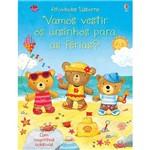 Livro - Vamos Vestir os Ursinhos para as Férias?