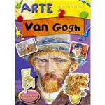 Livro - Van Gogh - Arte com Adesivos