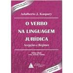 Livro - Verbo na Linguagem Jurídica, o