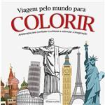 Livro - Viagem Pelo Mundo para Colorir
