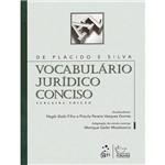 Livro - Vocabulário Jurídico Conciso
