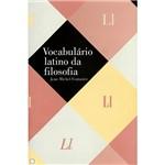 Livro - Vocabulário Latino da Filosofia