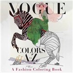 Livro - Vogue Colors a To Z: a Fashion Coloring Book