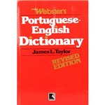 Livro - Webster's Portuguese - English Dictionary